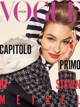 Vogue Italia July 2017 : Grace Elizabeth by Steven Meisel