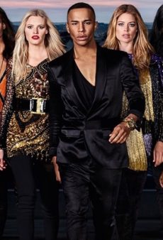 Olivier Rousteing Enlisted an Army of Diverse Models for the New Balmain x L'Oréal Paris Lipstick Ads