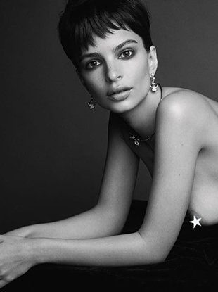 Emily Ratajkowski, Stephanie Seymour, Slick Woods and more pose topless (or full-on nude) for Patrick Demarchelier in the 18th issue of Love magazine.