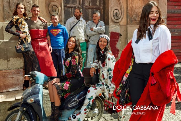 Dolce & Gabbana Fall 2017 campaign.