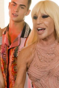 Watch: Donatella Versace Made Her Own Music Video for Bruno Mars' 'Versace on the Floor' and Its Pretty Perfect