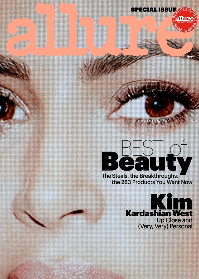 Allure October 2017 : Kim Kardashian by Daniel Jackson