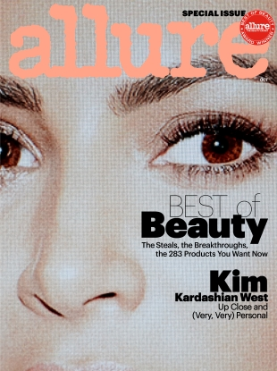 Allure October 2017 : Kim Kardashian by Daniel Jackson