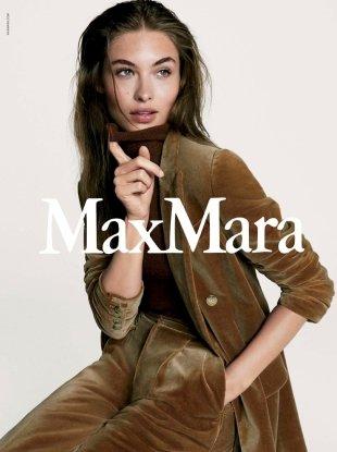 Max Mara F/W 2017.18 : Grace Elizabeth by Steven Meisel