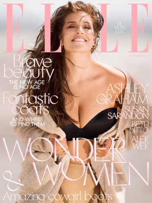 UK Elle November 2017 : The Wonder Woman Issue