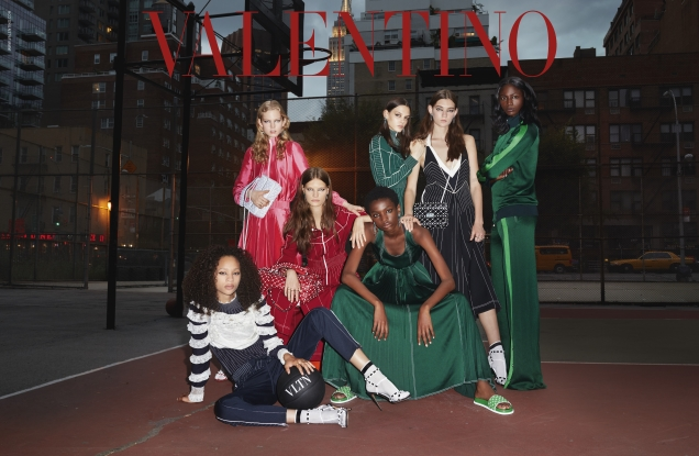 Valentino Resort 2018 by Terry Richardson