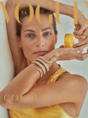 Vogue Ukraine November 2017 : Othilia Simon by Alique