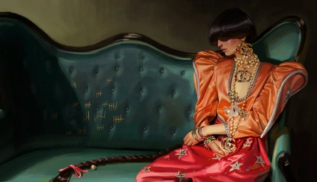 Gucci S/S 2018 by Ignasi Monreal