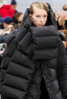 Up Your Cold-Weather Game With a Puffer Scarf This Winter