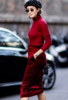 How to Wear the Red-on-Red Trend Like a Fashion Girl