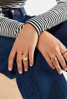 Signet Rings Get the Official Street Style Stamp of Approval