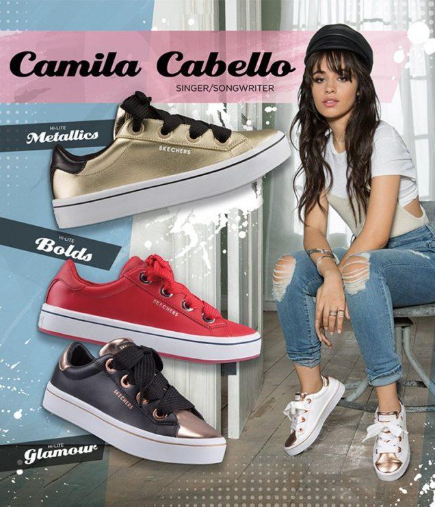 Camila Cabello for Sketchers