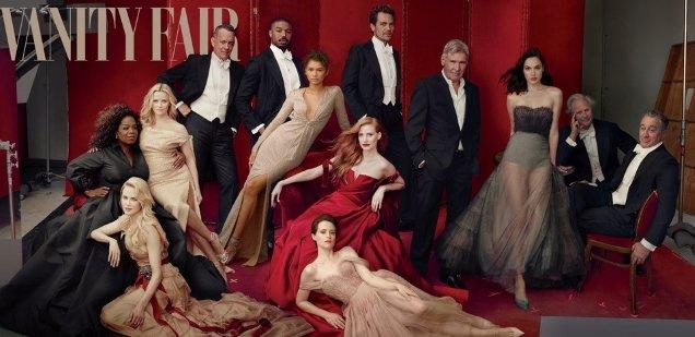 Vanity Fair 'The Hollywood Issue' 2018 by Annie Leilbovitz