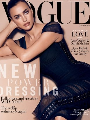 Vogue Arabia February 2018 : Irina Shayk by Miguel Reveriego