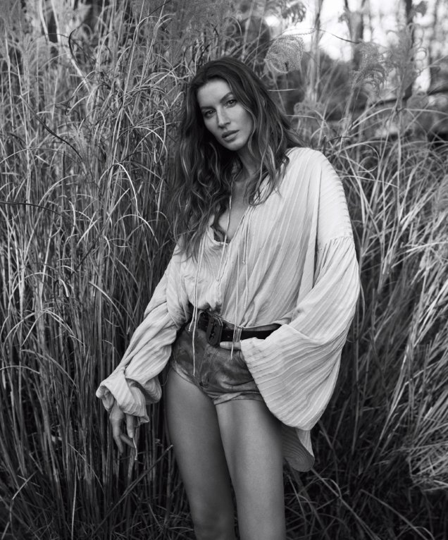WSJ Magazine April 2018 : Gisele Bündchen by Mikael Jansson