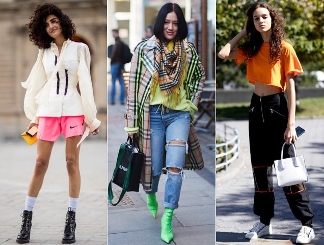 Neon done the street style way.