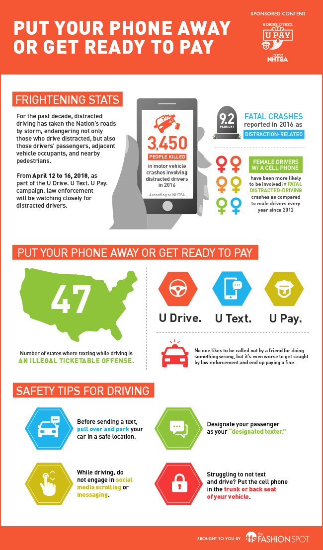 Infographic: Put your phone away or get ready to pay