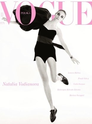 Vogue Poland May 2018 : Natalia Vodianova by Christian Macdonald