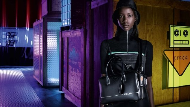 Prada Pre-Fall 2018 : Anok, Fran & Kris by Willy Vanderperre