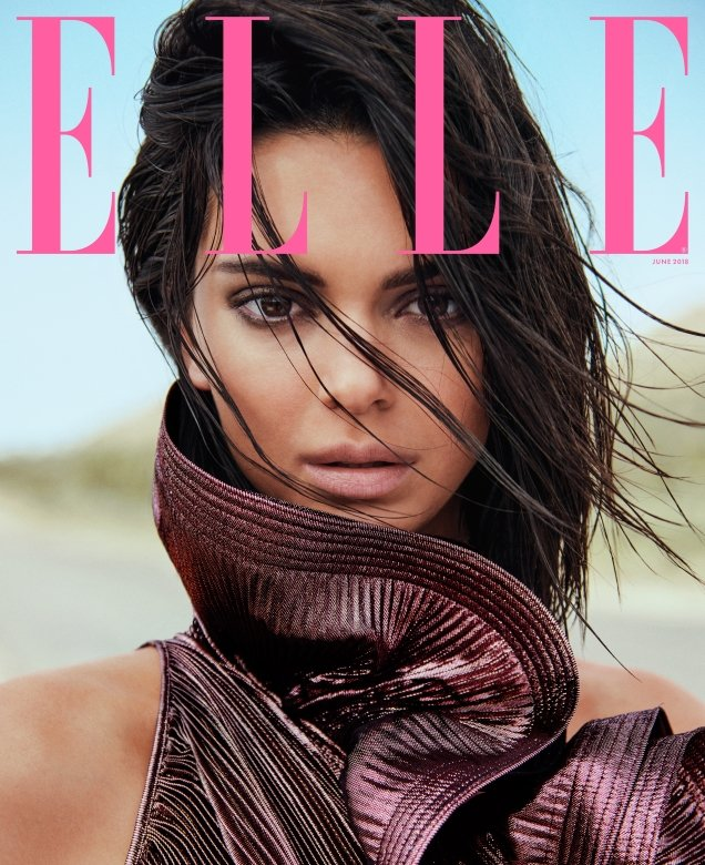 US Elle June 2018 : Kendall Jenner by Chris Colls