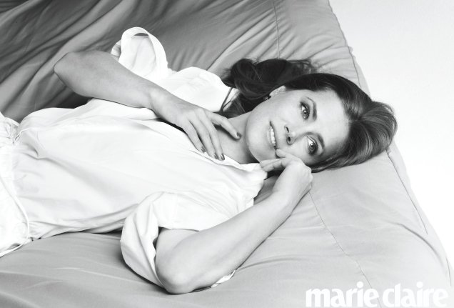 US Marie Claire July 2018 : Amy Adams by Brigitte Lacombe