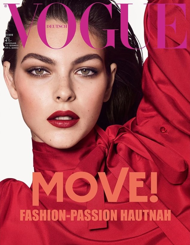 Vogue Germany July 2018 : Mayowa, Vittoria & Fran by Luigi & Iango