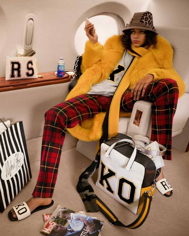 Michael Kors Collections F/W 2018.19 : Binx Walton by Inez & Vinoodh