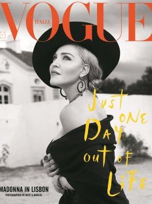 Vogue Italia August 2018 : Madonna by Mert Alas & Marcus Piggott