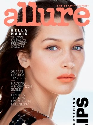 Allure September 2018 : Bella Hadid by Daniel Jackson