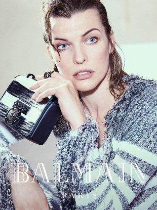 Balmain F/W 2018.19 : Milla Jovovich by An Le