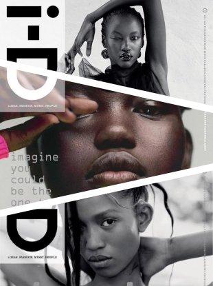 i-D Fall 2018 : Adut Akech, Adesuwa Aighewi & Anok Yai