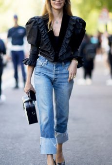 How to Pull Off 80s-Inspired Puff Sleeves IRL