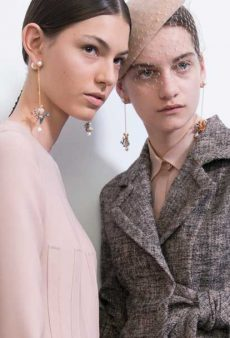 Skinny Drop Earrings Are the Sleeper Accessory Hit of the Season