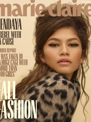 US Marie Claire September 2018 : Zendaya by Thomas Whiteside