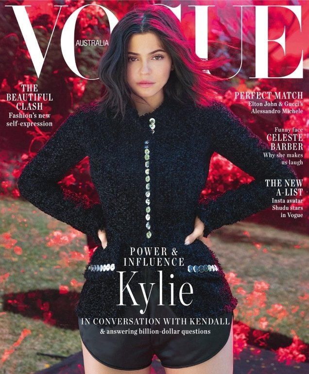 Vogue Australia September 2018 : Kylie Jenner by Jackie Nickerson