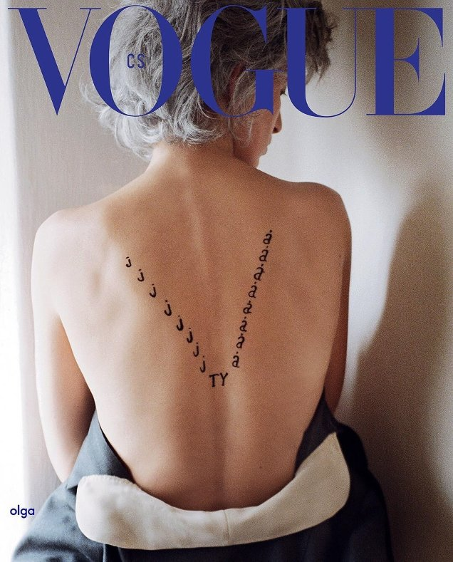 Vogue Czechoslovakia September 2018 : Karolina Kurkova by Branislav Simoncik