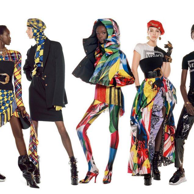 Versace Fall 2018.