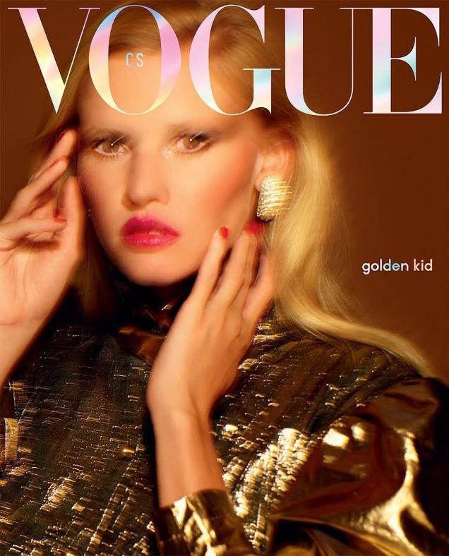 Vogue Czechoslovakia October 2018 : Lara Stone by Rankin