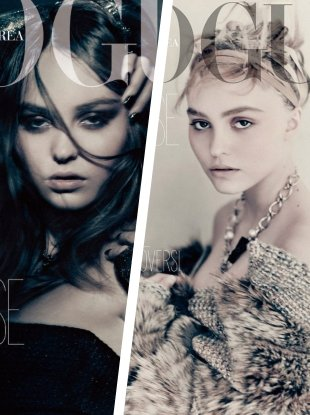 Vogue Korea September 2018 : Lily-Rose Depp by Paolo Roversi