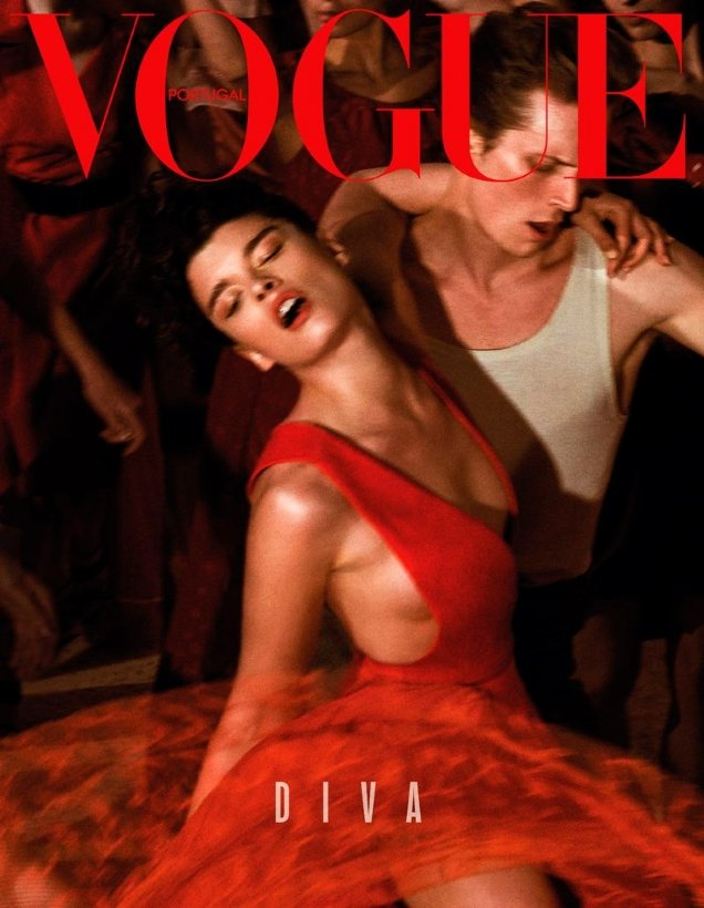 Vogue Portugal September 2018 : Crystal Renn by Branislav Simoncik