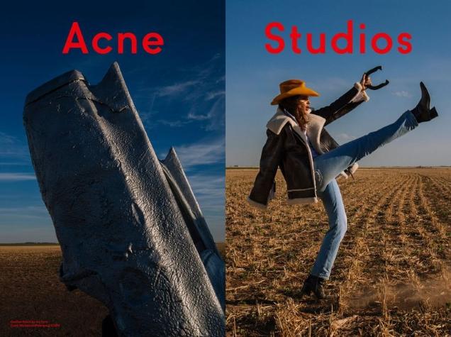 Acne Studios F/W 2018.19 : Cindy Crawford by Sam Abell
