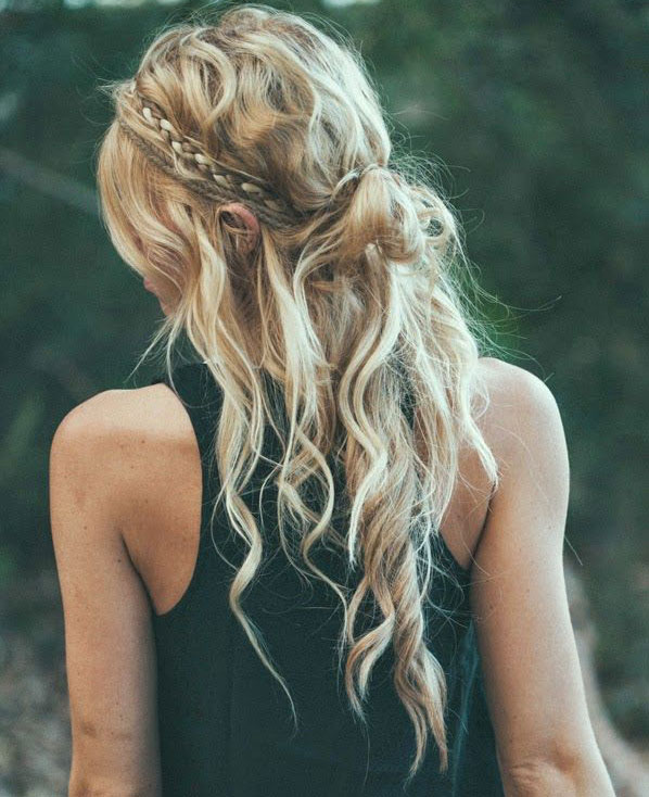 10 Easy Festival Hairstyle Ideas From Pinterest