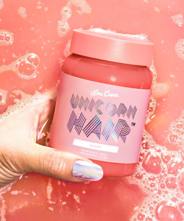 Lime Crime  10 Hair Tinting Products for a No-Risk, Temporary Color Boost lime crime unicorn hair color depositing hair care