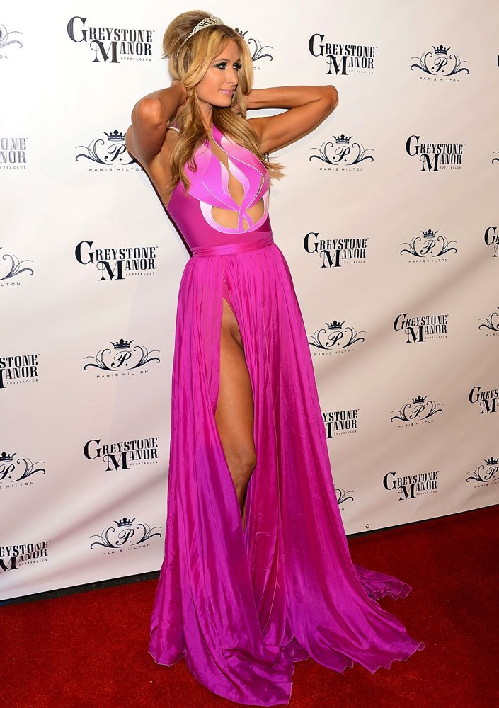 Paris Hilton at Her 2014 Birthday Party