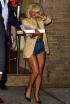 Lady Gaga at Famous Amadeus Pizza