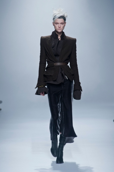 4. Cinched Outerwear