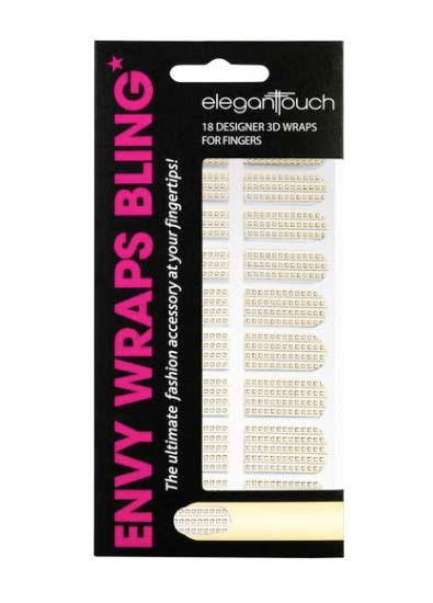 Elegant Touch Blind Nail Wraps in Nail Armour