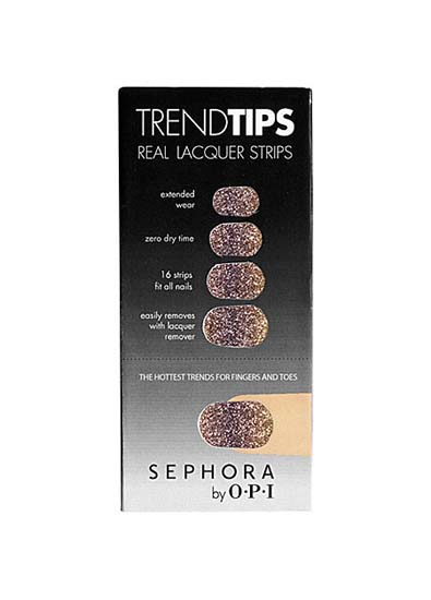 Sephora by OPI Trend Tips in Gold & Purple Ombre