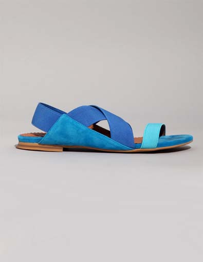 Jeffrey Campbell Two-Tone Sandals
