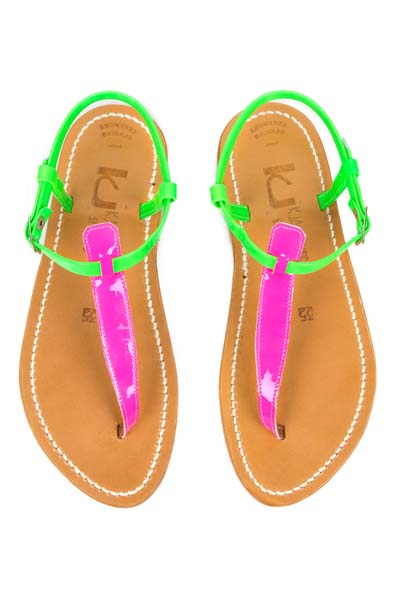 K. Jacques pour Opening Ceremony Picon Patent Thong Sandal